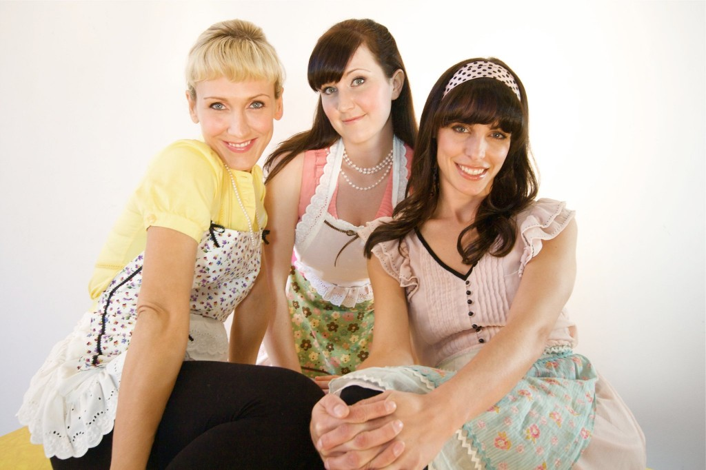 Jen, Jessica and Bridget, Co-Founders of The Vegan Project